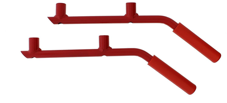 2Pcs Front Handles-red Door Handle,Grab Bar Grip Handle for J-e-ep Wrangler JK JKU Sahara Sport Rubicon /& Unlimited 2 //4Door 2007-2017