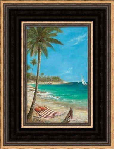.com: gentle breezes - framed art print - 4x6 fine art print ...