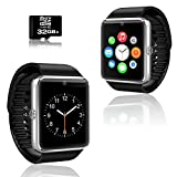 GT8 Unlocked GSM Bluetooth Pedometer Camera Smart Watch&Phone- Free 32gb SD Card