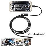 2M Mini USB Android Endoscope Camera 7mm Lens 6LED IP67 Waterproof Snake USB Inspection Android OTG USB Borescope Camera