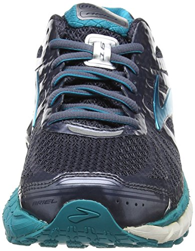 Shoe Brooks Grisalle Womens Ariel Capri Indigo Breeze '16 Running Overpronation Stability Mood 7RTP7