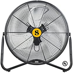 B-Air Firtana-20X Multipurpose High Velocity Fan - 20 inch Floor Fan