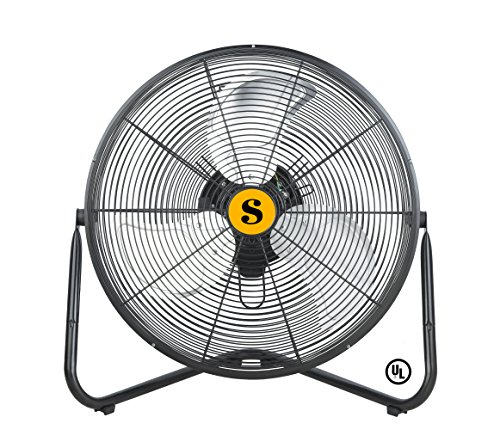 B-Air FIRTANA-20X 20 Inch Multi Purpose High Velocity Floor Fan, 20