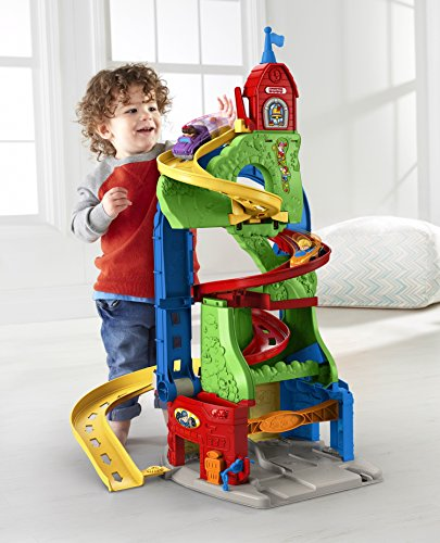 Little People Sit In Stand Roadway & Skyway Playsets by Little People