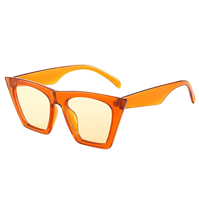 Yangjing-hl Personalidad Gafas de Sol Ojo de Gato Hembra ...