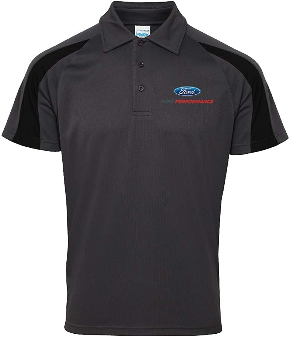 Ford Performance Polo Officiel Racing Cool Performance pour Homme
