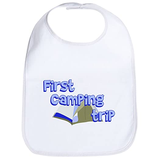 0fd2dde91 Amazon.com: CafePress - First Camping Trip Bib - Cute Cloth Baby Bib,  Toddler Bib: Clothing