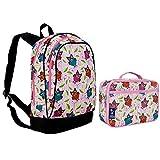 Wildkin Owls Sidekick Backpack Back Pack and Lunch Box School Bundle Set