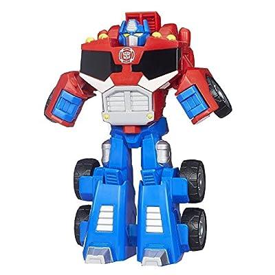 Transformers Playskool Heroes Rescue Bots Optimus Prime Figure: Toys & Games