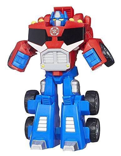 image Transformers Playskool Heroes Rescue Bots Figurine Optimus Prime