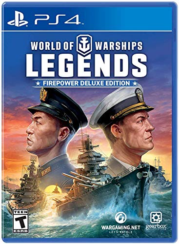 World of Warships: Legends Firepower Deluxe Edition - PlayStation 4