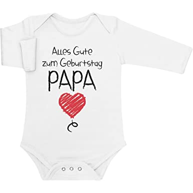 Shirtgeil Alles Gute Zum Geburtstag Papa Vater Geschenk Baby