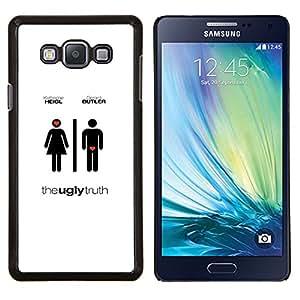 EJOOY---Cubierta de la caja de protección para la piel dura ** Samsung Galaxy A7 A7000 ** --Amor Hombres Película Mujeres Diferente