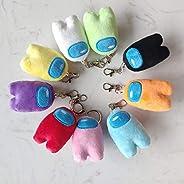 YUNCHENG Plush Toys Soft Plush 2020 New Game Among Us Plush Toy Mini 20 cm Among Us Plush Key Pendant Cute Plu