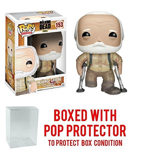 Walking Dead: Hershel Greene Funko Pop! Vinyl Figure (Includes Compatible Pop Box Protector Case)]()