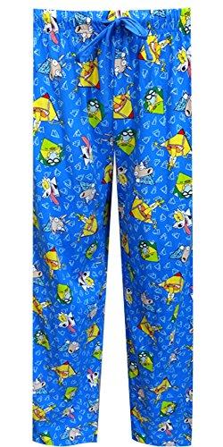 Nickelodeon Rewind Rocco's Modern Life Lounge Pants for men (Medium)