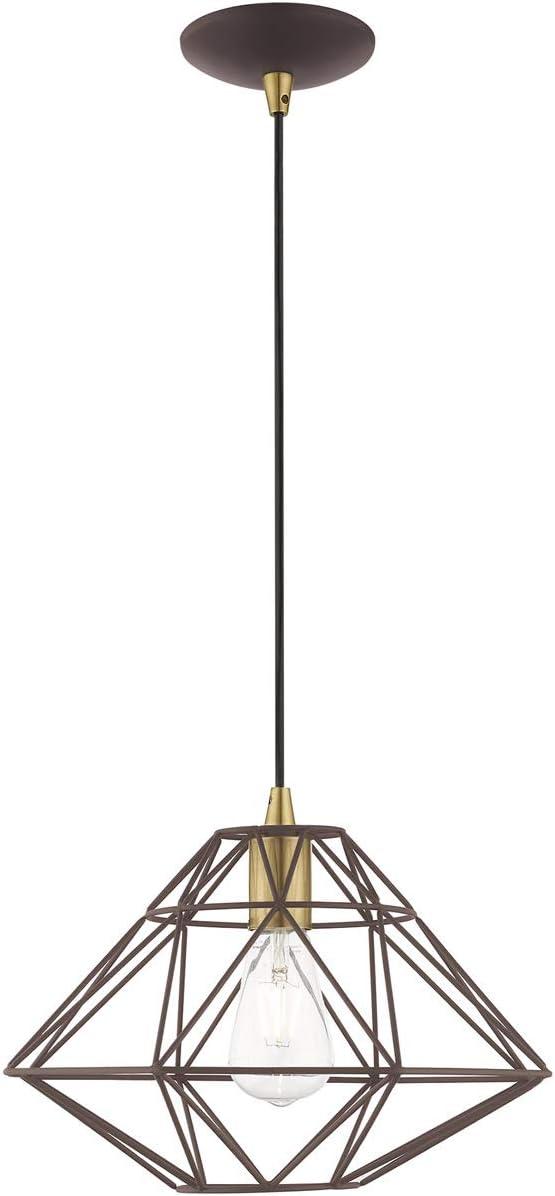 Livex Lighting 41323-07 Bronze Cheap bargain Mini Lt 1 Pendant Memphis Mall