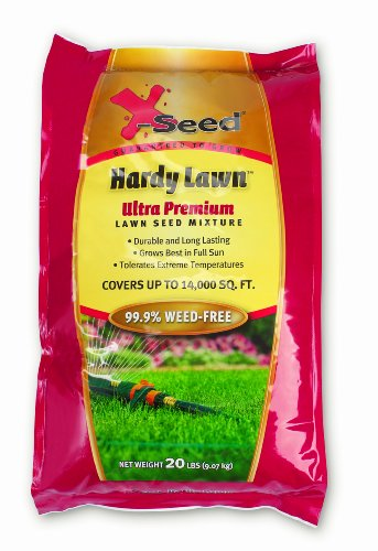 X-Seed Ultra Premium Hardy Lawn Seed Mixture, 20-Pound