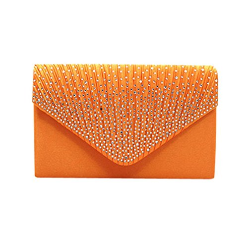 Saihui Pochette femme pour Saihui femme Orange Orange Pochette pour Saihui Pochette pour HE8wqrzUE