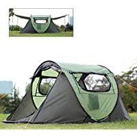 FiveJoy Pop Up Camping Tent - NO Assembly Required -...