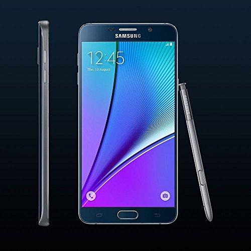 Samsung Galaxy Note 5 SM-N920A 32GB GSM Unlocked Cellphone, Black Sapphire