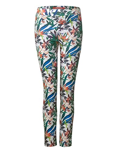 Femme white Multicolore 30000 Pantalon Street One RUfwF