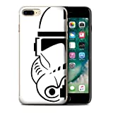 STUFF4 Phone Case / Cover for Apple iPhone 7 Plus / Clone Soldier Design / Assault Trooper Helmet Collection
