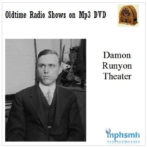 THE DAMON RUNYON THEATER Old Time Radio (OTR) series (1949) Mp3 DVD 51 episodes