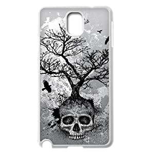 C-QUE Customized Print Skull Hard Skin Case Compatible For Samsung Galaxy Note 3 N9000