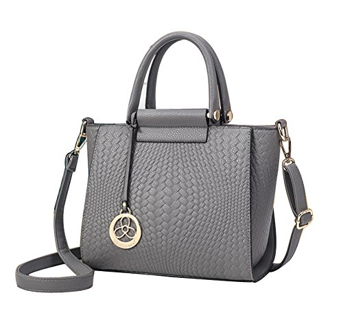 amp;n Gray Pattern Graffiti Womens Handbag Handle A 7dAvqqw