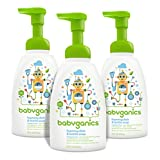 Babyganics Foaming Dish and Soap, Fragrance Free, 16-Ounce Pump Bottle (Pack of 3)