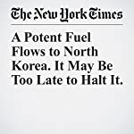 A Potent Fuel Flows to North Korea. It May Be Too Late to Halt It. | William J. Broad,David E. Sanger