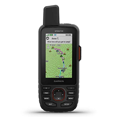 Garmin GPSMAP 66i GPS Handheld and Satellite Communicator ...