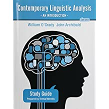 Study Guide for Contemporary Linguistic Analysis: An Introduction