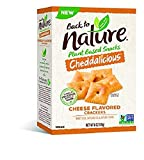 Back to Nature Crackers, Non-GMO Cheddalicious, 6