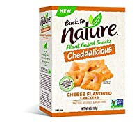 Back to Nature Crackers, Non-GMO Cheddalicious, 6 Ounce