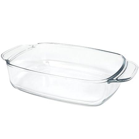 COM-FOUR® Fuente de horno de vidrio de borosilicato para horno de ...