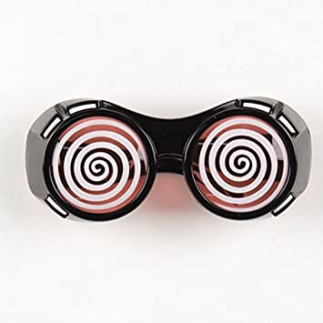 d51878b4c59 Hypnotic Dizzy Eye Black Goggles  Amazon.co.uk  Toys   Games