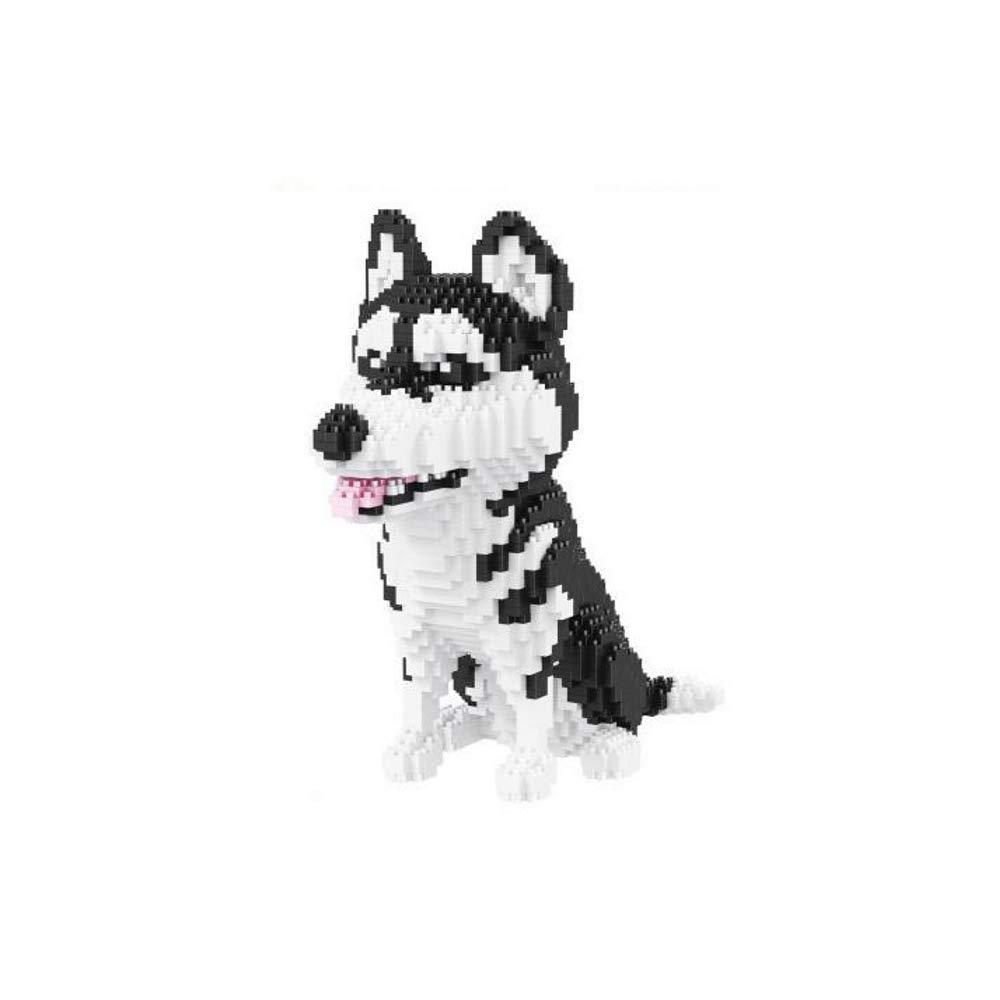 Your Very Own Mini Pet Companion Nano Block Kit 14 Years Old and Up Husky Nanoblock Dog Building Set