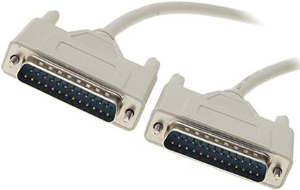 Cable alargador para conexión de impresora en paralelo macho-macho ...