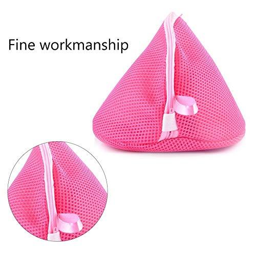Matthew00Felix Triangle Laundry Wash Bags Lingerie Bra Socks Underwear Mesh Bag Wash Care Bag