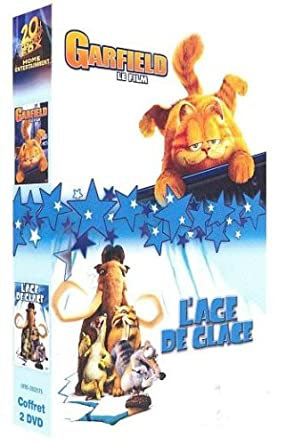 Amazon Com L Age De Glace Garfield Le Film Coffret 2 Dvd Movies Tv