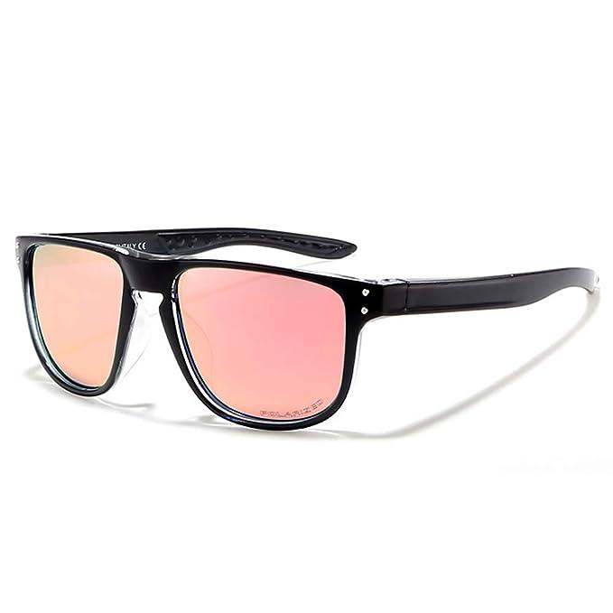 ae8e8a46ad5 Amazon.com  K KDEAM Non-slip Polarized Sunglasses for Women Men Sport UV 400  Protection Black Green  Clothing