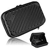 Hltd 2.5'' HDD Hard Drive Bag Travel Storage Carrying Case Bag Pouch for Electronic Computer Cell Phone iPad Accessories USB Cables Power Banks Hard Disk (Black)