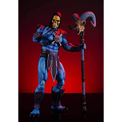 Mondo Tees Masters of The Universe: Skeletor 1: 6 Scale Collectible Action Figure, Multicolor: Toys & Games