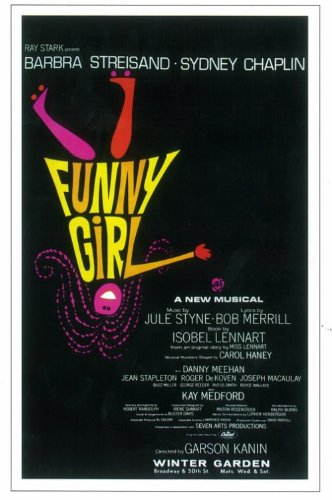 Funny Girl Broadway Poster - Style A