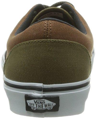 Vans - Zapatillas de skate unisex Marrón (Black Olive/Mon)