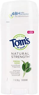 product image for Tom's of Maine, Natural Strength Deodorant - Fresh Sage, 2.1 Ounce