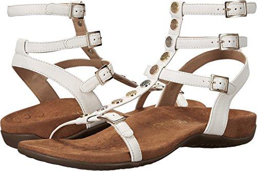 dfaed88ea613 Vionic Women s Sonora White Sheep Nappa Sandal - Import It All