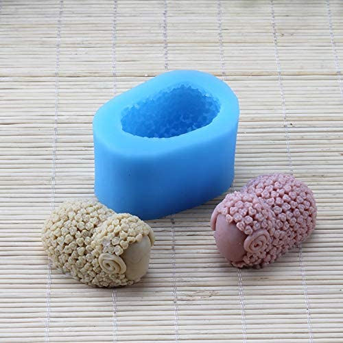 Silicone Mold for Natural Handmade Soap Chocolate Candy Mould Cute Sheep Craft Resin Clay Decorating Tool